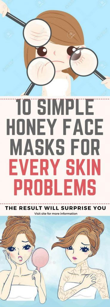 Here Are 10 Simple Honey Face Masks For Every Skin Problems!!!  #lifehacks  #fitness