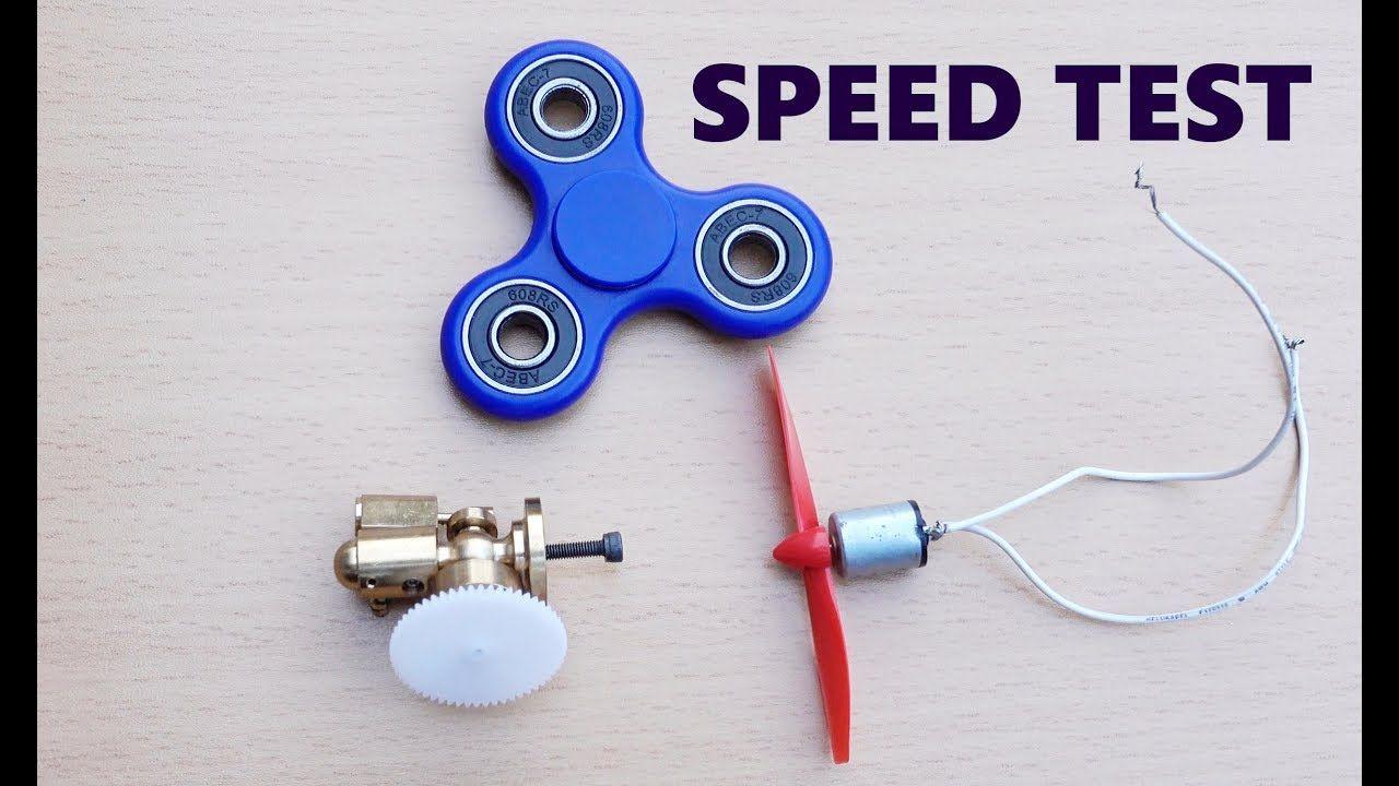 Fidget Spinner vs Steam Engine vs Magnet Motor Speed TEST! | Cool