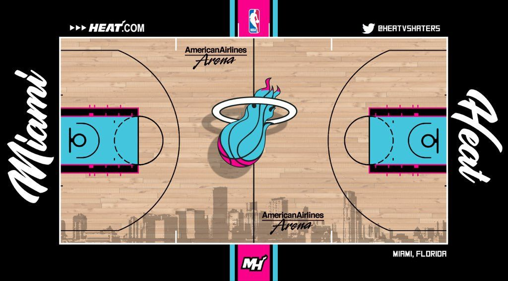 Miami Heat court