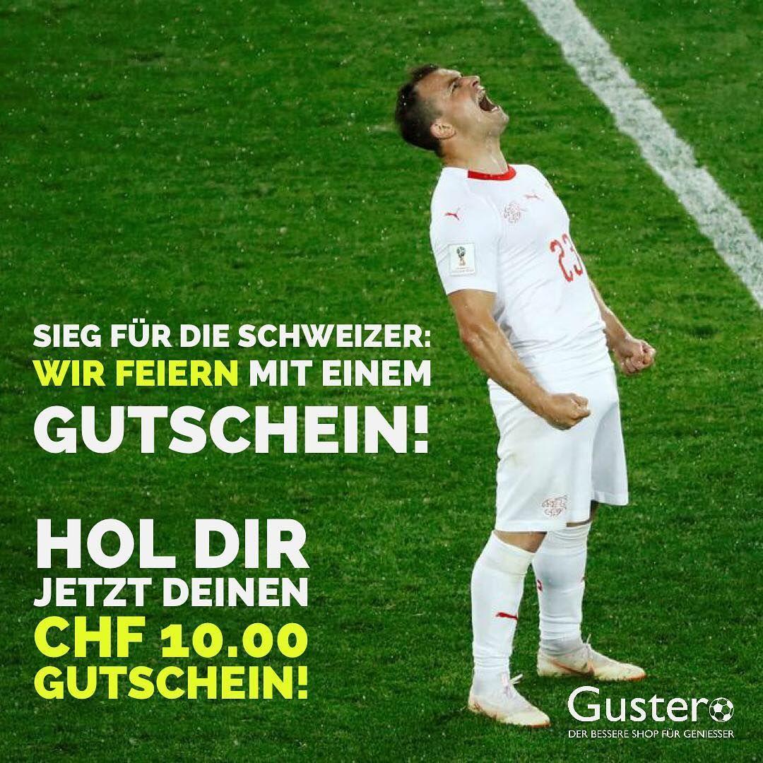 Gustero Gratuliert Der Schweizer Nati Zum Sieg Heute Abend Zur
