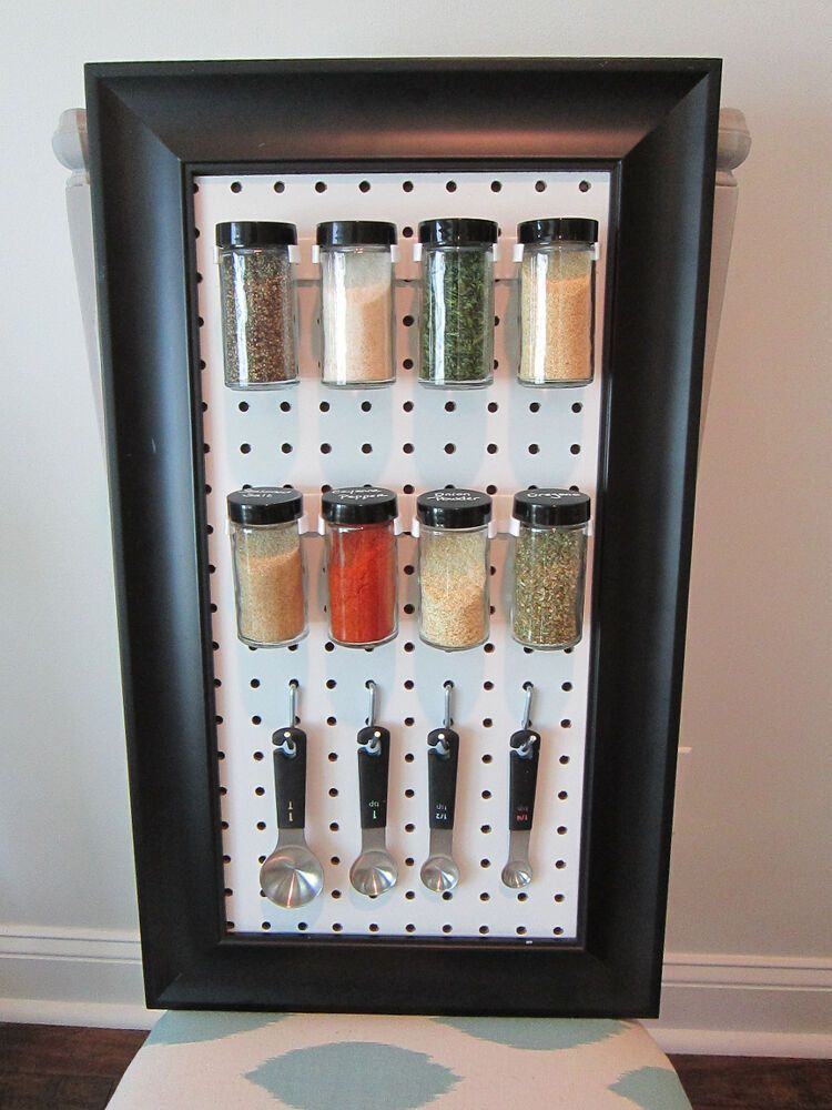 16 DIY Spice Rack Ideas to Reorganize Your Kitchen Storage ...