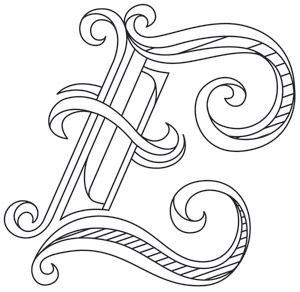 Letter Perfect Letter E Design Uth7596 From Urbanthreads Com