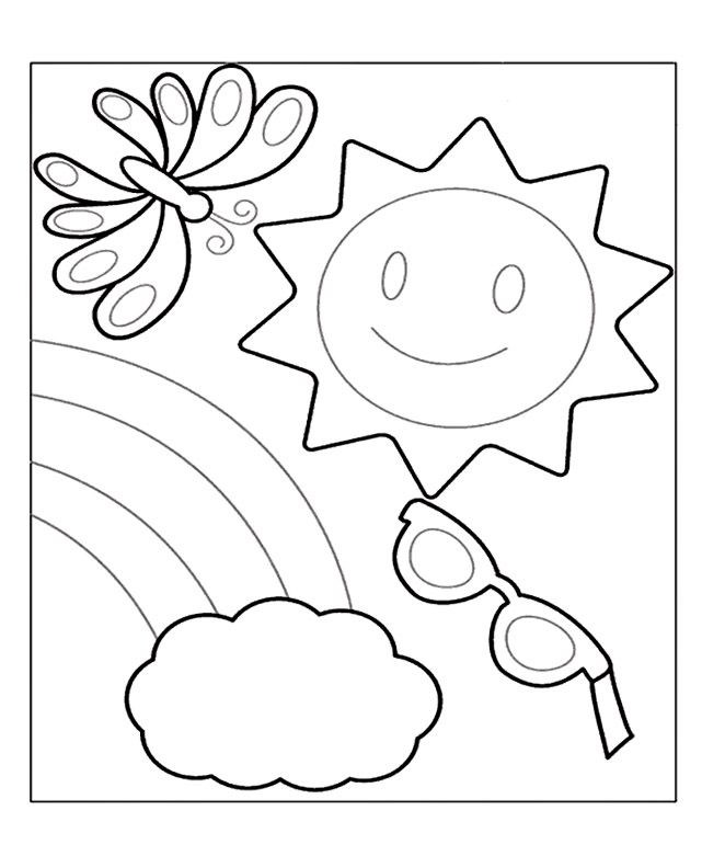 Summer Coloring Pages And Book Uniquecoloringpages Summer Season Pictures For Kids Drawing Summer Coloring Pages Cool Coloring Pages Fruit Coloring Pages