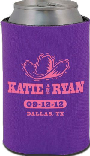 Totally Wedding Koozies.Western Theme Totally Wedding Koozies Favors I Lv This But In Diff