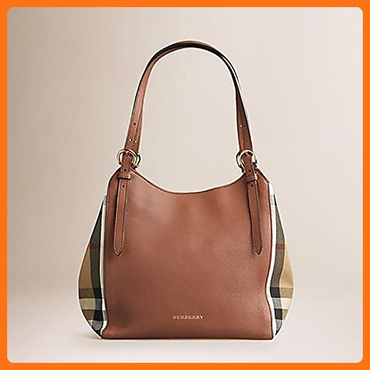 36e3430dcf7 Tote Bag Handbag Authentic Burberry Small Canter in Leather and House Tan  color Made in Italy - Totes (*Amazon Partner-Link)