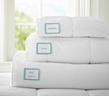 Natural Down Blend Bedding Pottery Barn Kids Duvet