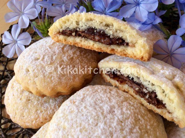 Ricetta Pancake Kikakitchen.Biscotti Con Nutella Facili E Veloci Ricetta Passo Passo Ricette Biscotti Ripieni Biscotti