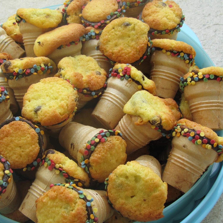 muffins in waffelbechern rezept rezepte waffelbecher