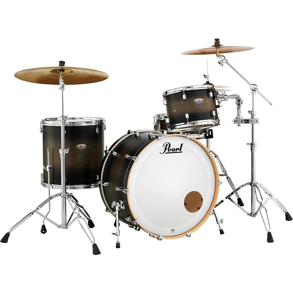 Pearl Decade Maple 3 Piece Shell Pack S Acoustic Drum Drums