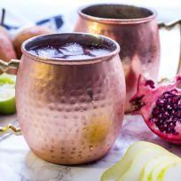 Pear Pomegranate Mule Recipe