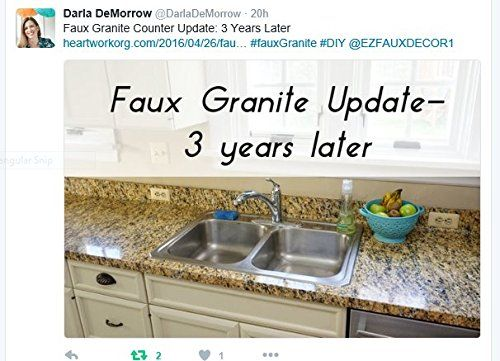 Granite Contact No Peel It Stick It Love It W Ezfaux Decor Llc Removable Gold Granite Bubble Resistant Self Ad Faux Granite Granite Kitchen Kitchen Countertops