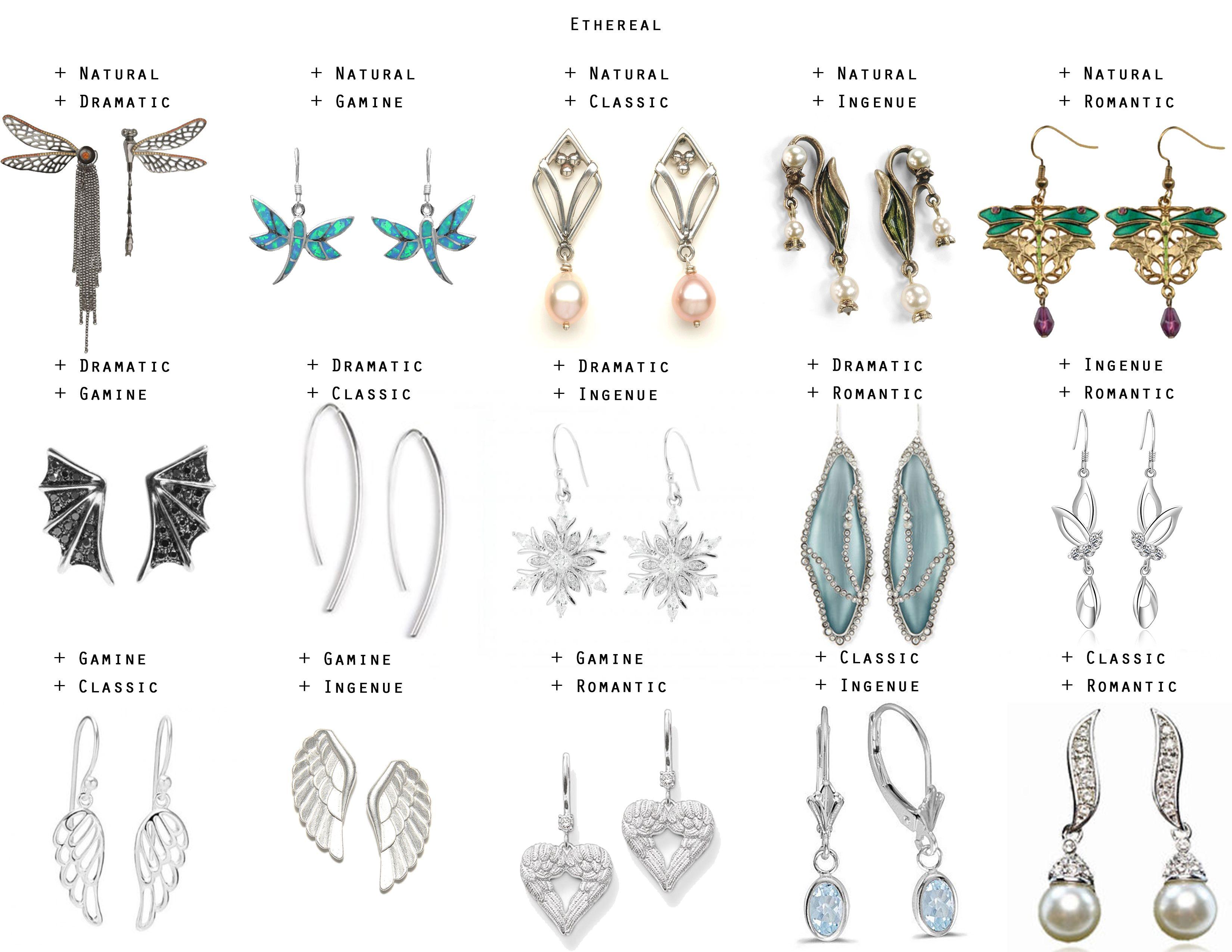 Types Of Earrings Topearrings