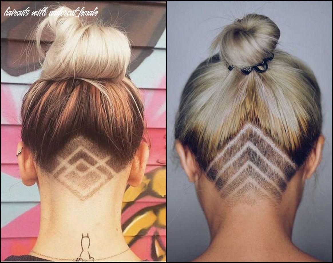 8 Haircuts With Undercut Female In 2020 Undercut Long Hair Undercut Hairstyles Hair Styles