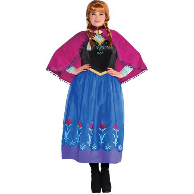 Transform into Anna from Frozen this Halloween night.  sc 1 st  Pinterest & 30 Shoppable Plus-Size Costumes from Party City | Halloween night ...
