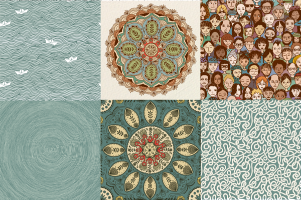 Big Doodle Vector Set by Franzi on Creative Market