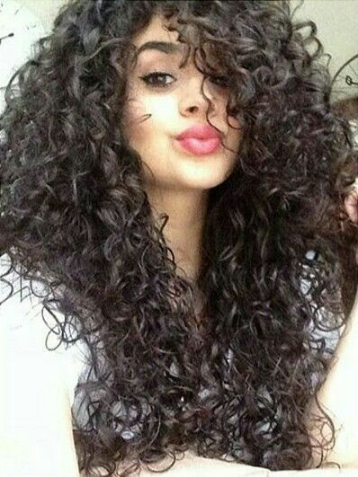 3a B Hair Blown Dry With Images Curly Hair Styles Naturally