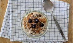 Overnight oats met yoghurt
