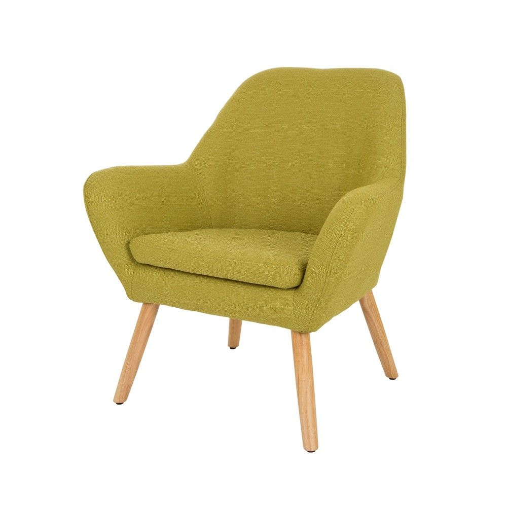 Midcentury Modern Oversized Accent Chair Lime Glitzhome Adult