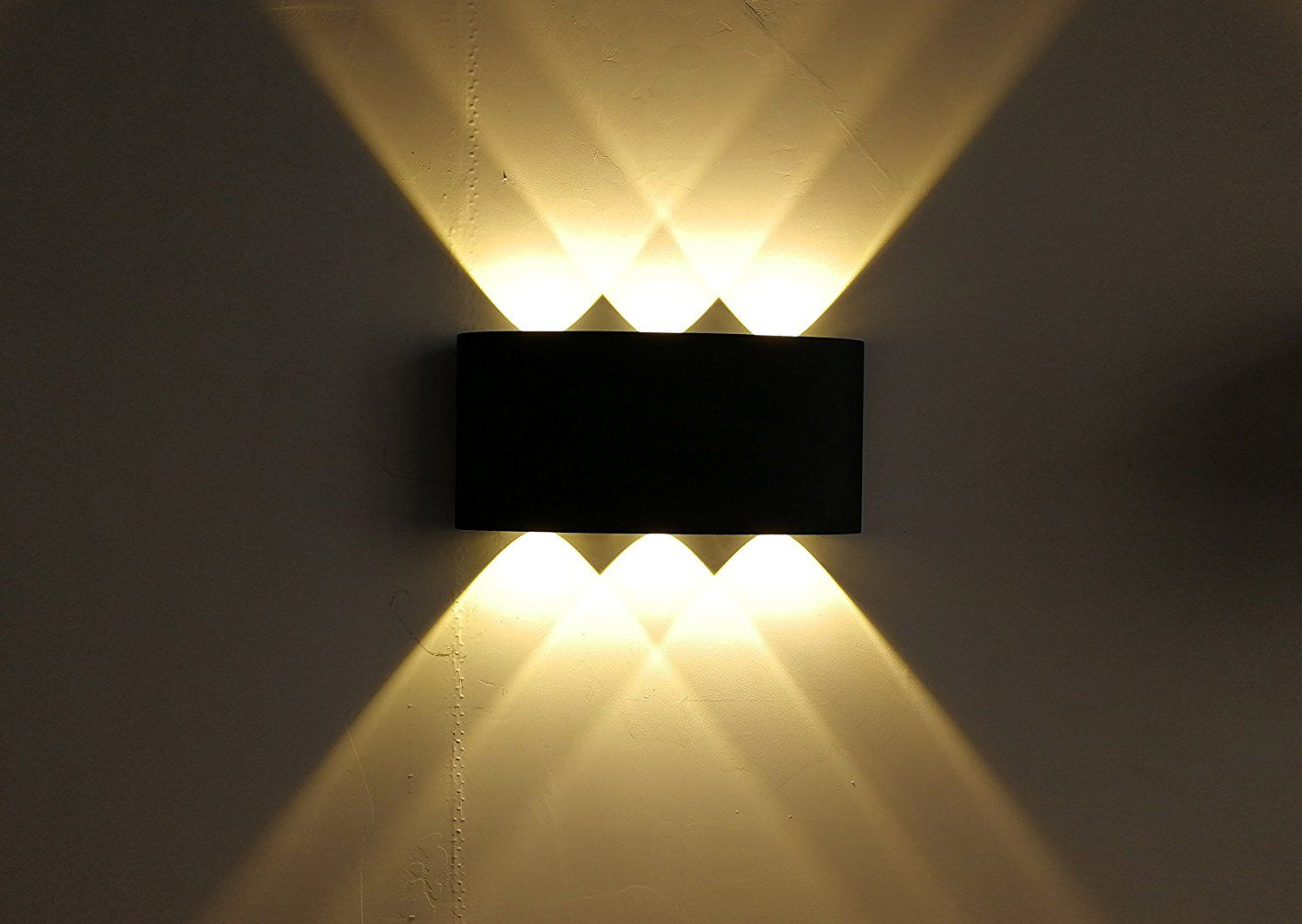 Up Down Out Door Wall Light Cob Led Wall Lamp Up And Down 6w Aluminum Round Wall Light Modern Home Lighting Indoor Outd Led Wall Lamp Wall Lights Home Lighting