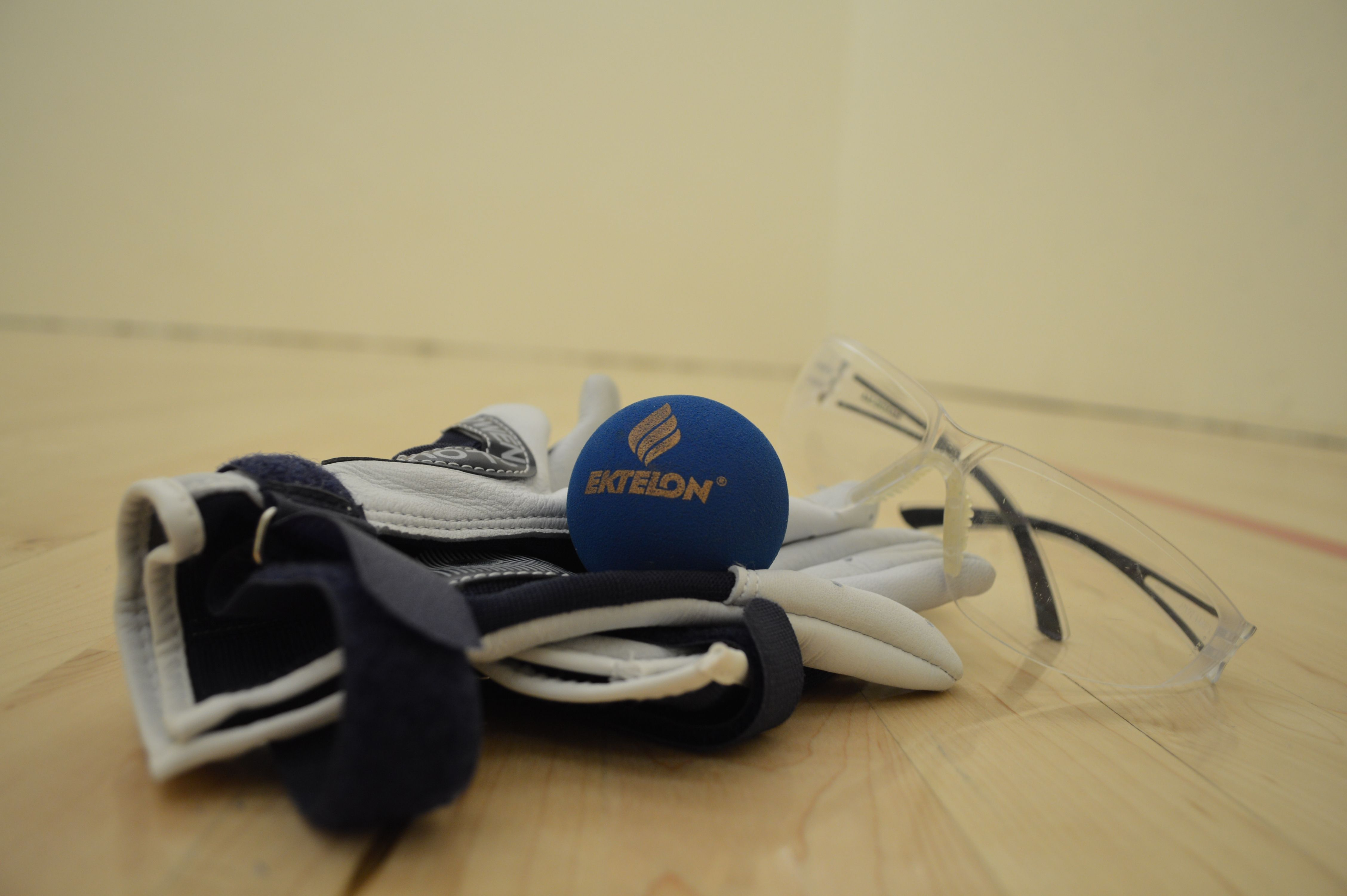 Come out and play on our four handballracquetball courts