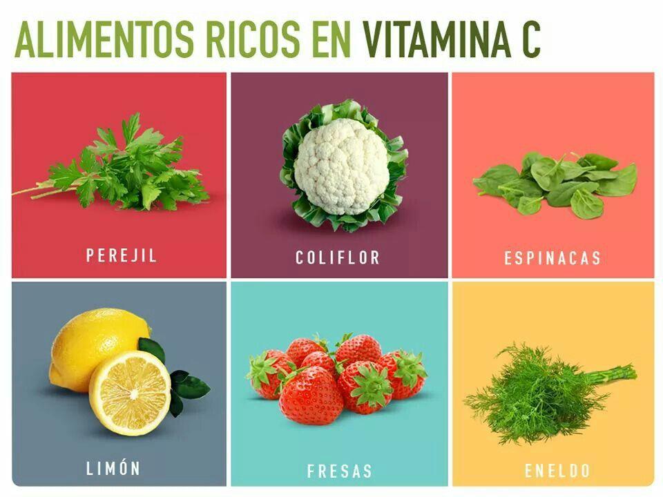 Alimentos ricos en vitamina c vida sana alimentaci n pinterest vitaminas alimentos y - Que alimentos contienen vitamina c ...
