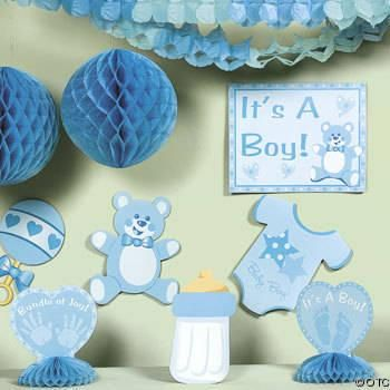 Wonderful Adornos Para El Baby Shower De Un Niño