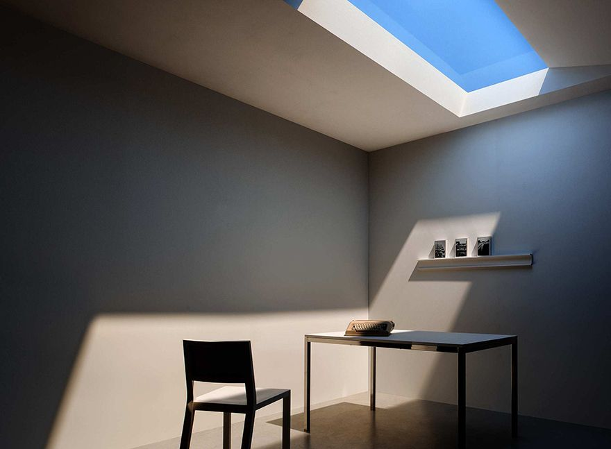 New light panel technology imagine having a ceiling skylight on the new light panel technology imagine having a ceiling skylight on the 1st floor of a mozeypictures Image collections