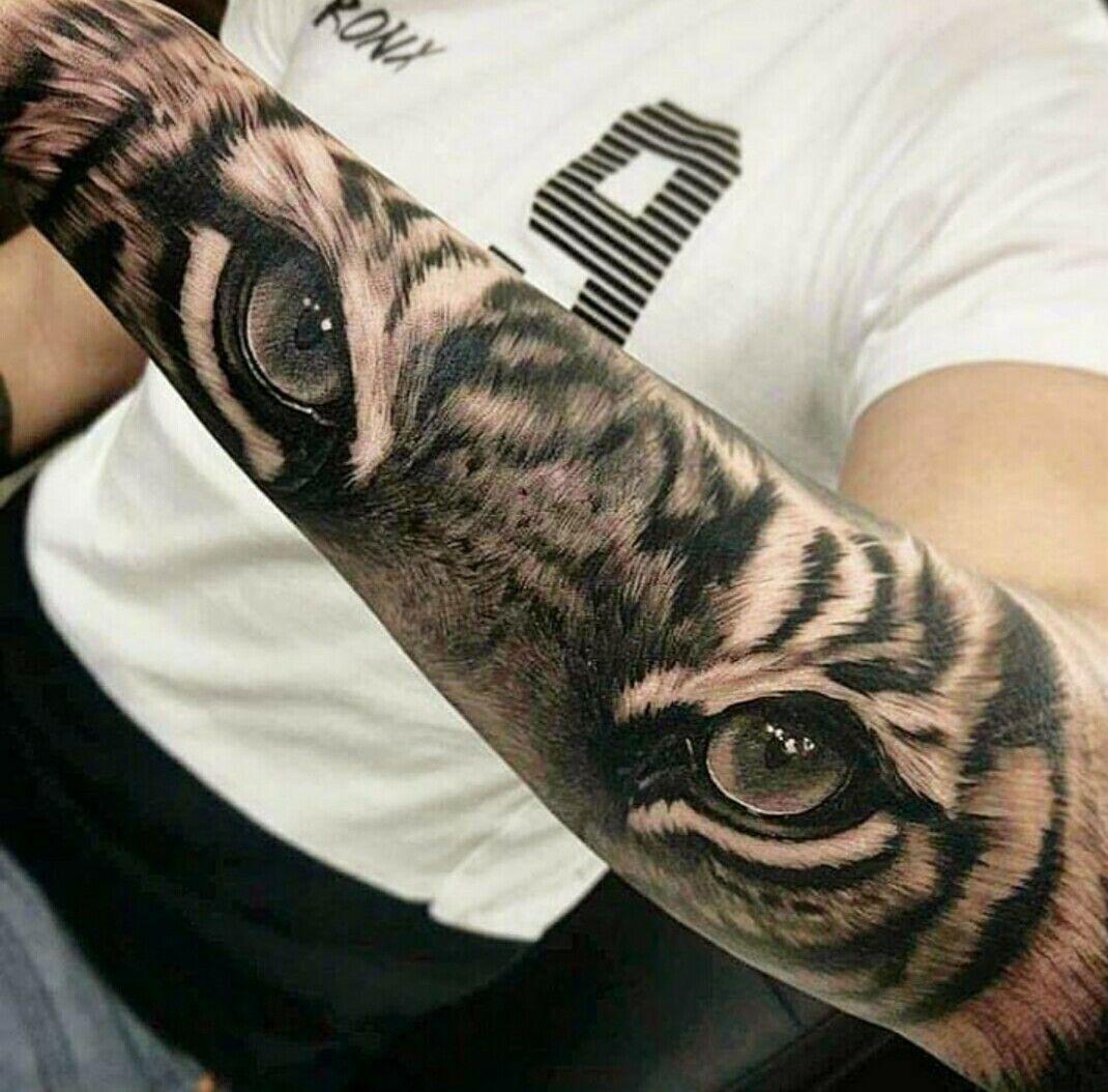 Pin De Luz En Tatuajes Realistas Tatuaje Ojos De Tigre Tatuajes De Animales Tatuaje Ojo