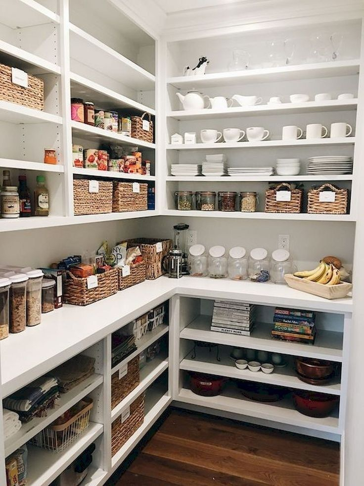 ✔64 well kitchen organized and storage ideas 17 #pantryshelving