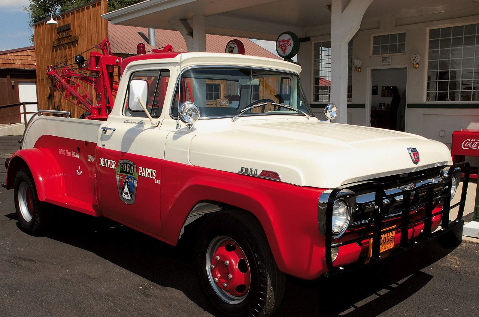 1957 Ford F350 One Ton Converted Dually Tow Truck