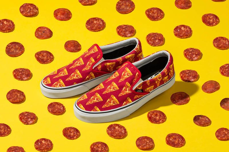 Junk Food Sneakers | Vans classic slip on, Vans girls, Sneakers