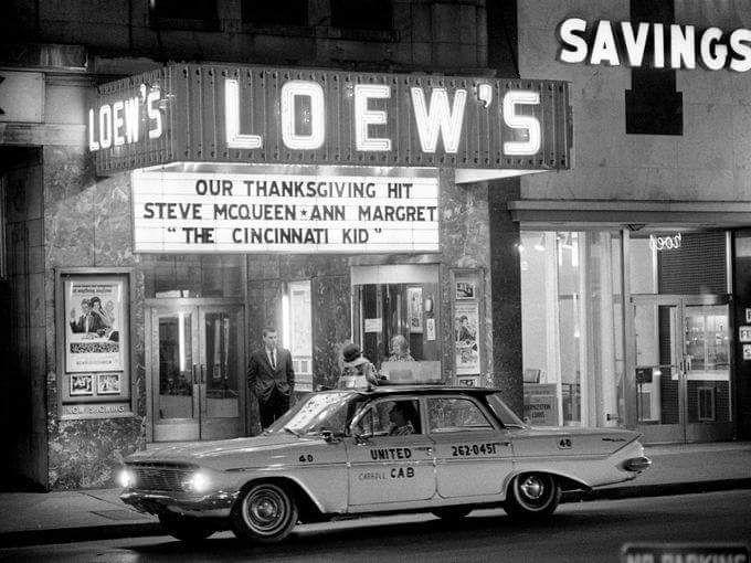 1961 Chevrolet Taxi Nashville Cincinnati Kids Ann Margret