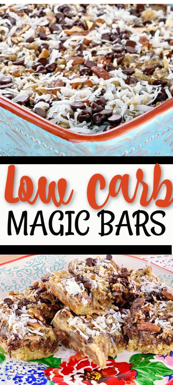 Low Carb Magic Bars #ketodietforbeginners