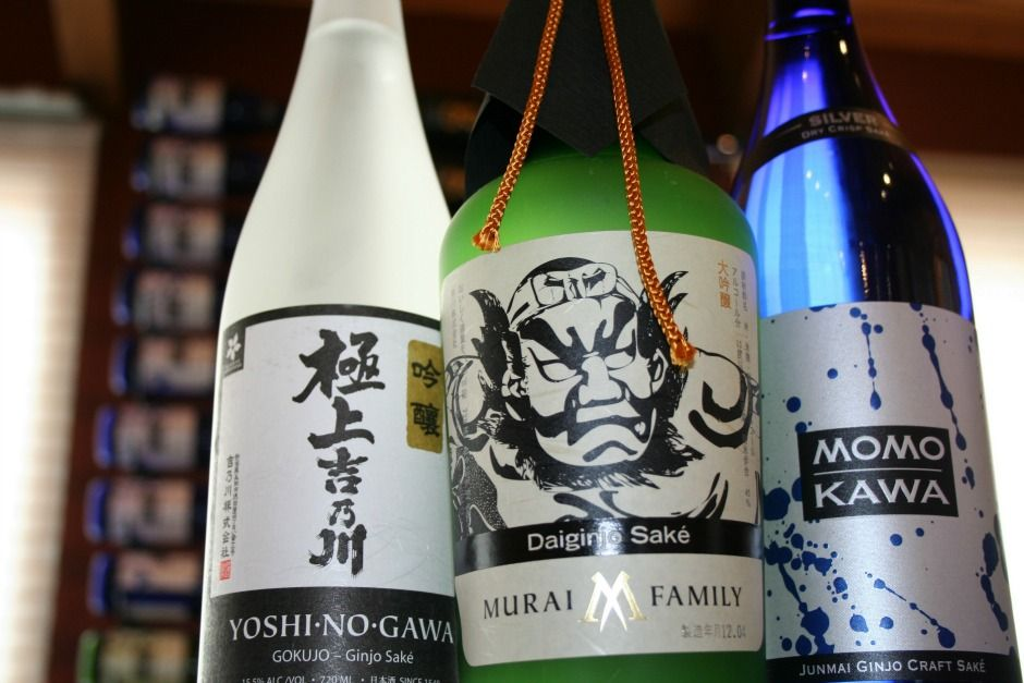 Sake. (The things this drink does to my characters.)