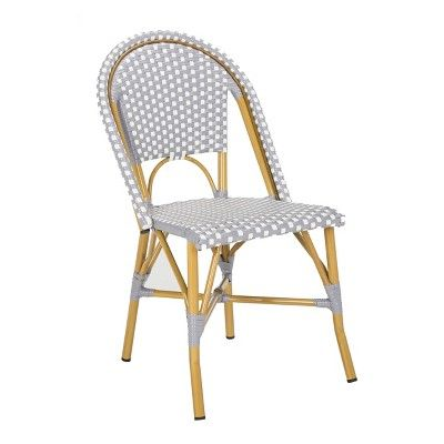 Grey Checkered Dining Chairs