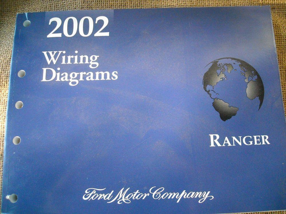 2002 Ford Ranger Workshop Repair Manual Book Wiring