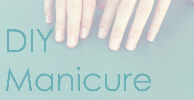 steps to a great at-home manicure! but I suggest not cutting your cuticles if you don't know what you are doing
