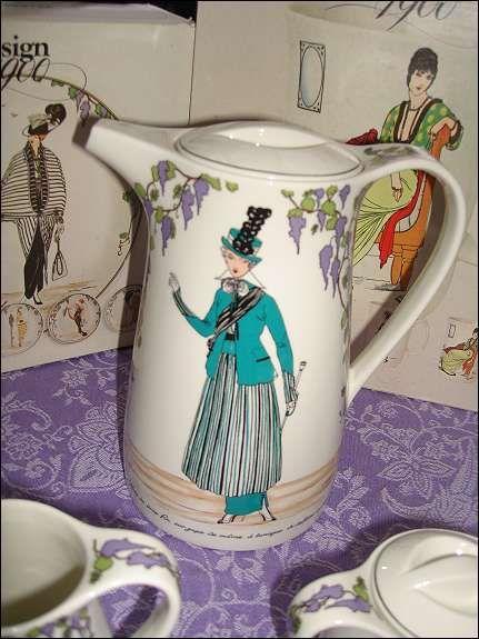 Villeroy \ Boch Design 1900 Kaffeeservice Jugendstil, 349 - ausgefallene geschirr und bucherschrank designs