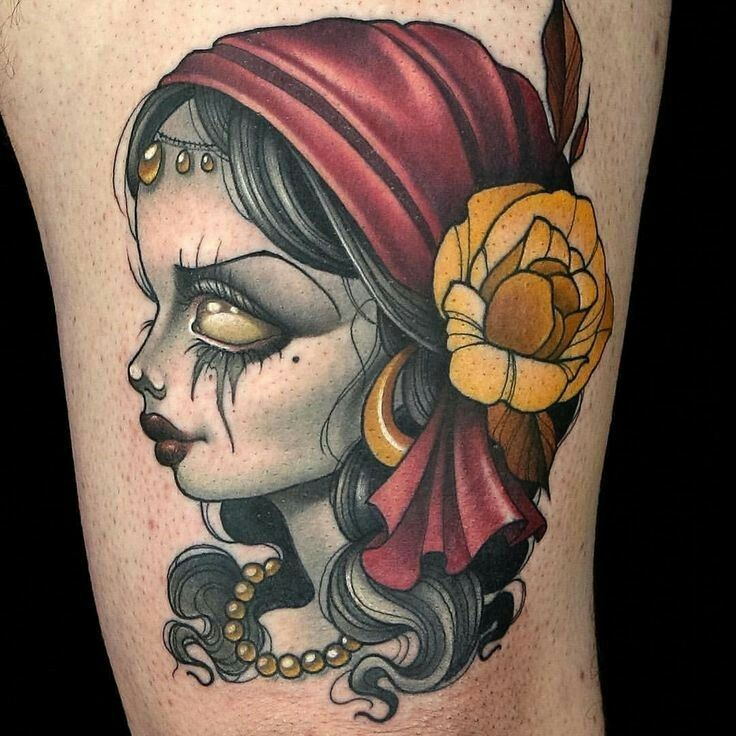 This is the Gypsy Girl tattoo done by Kelly Doty on Ink ...