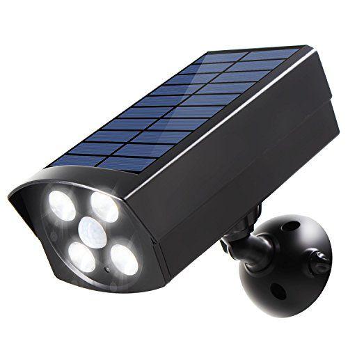Innogear Usb Solar Powered Motion Sensor Lights Outdoor S