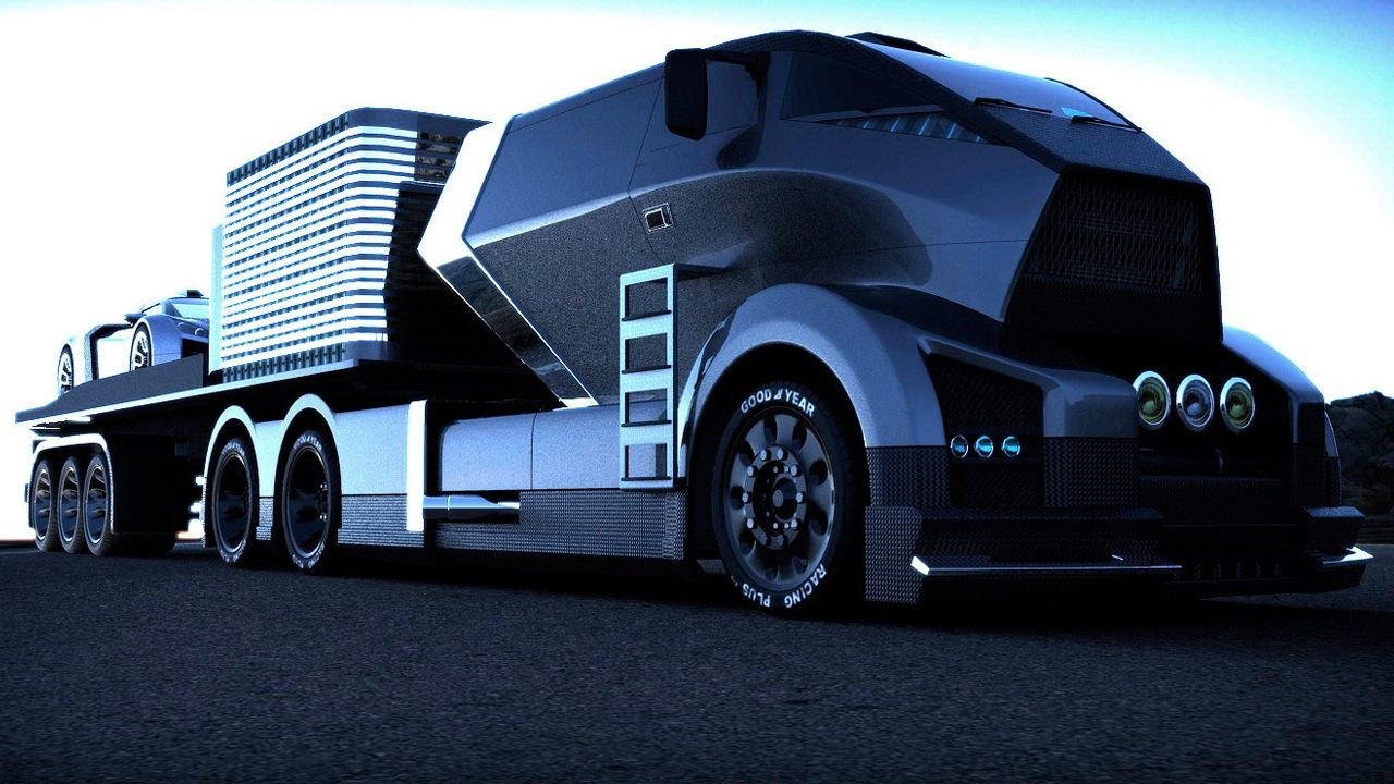 Black Hawk Future Truck Concept