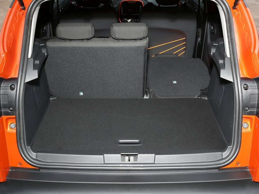The Spacious Boot Of The Renault Captur