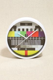 Test Card Clock