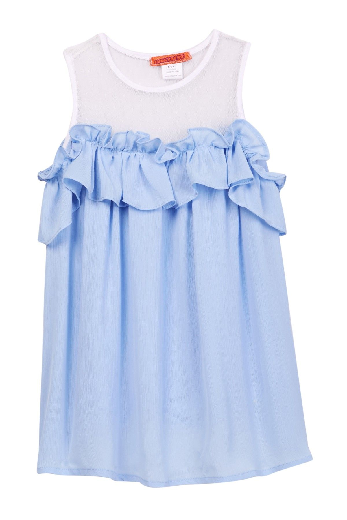 Cold Shoulder Dress Toddler & Little Girls