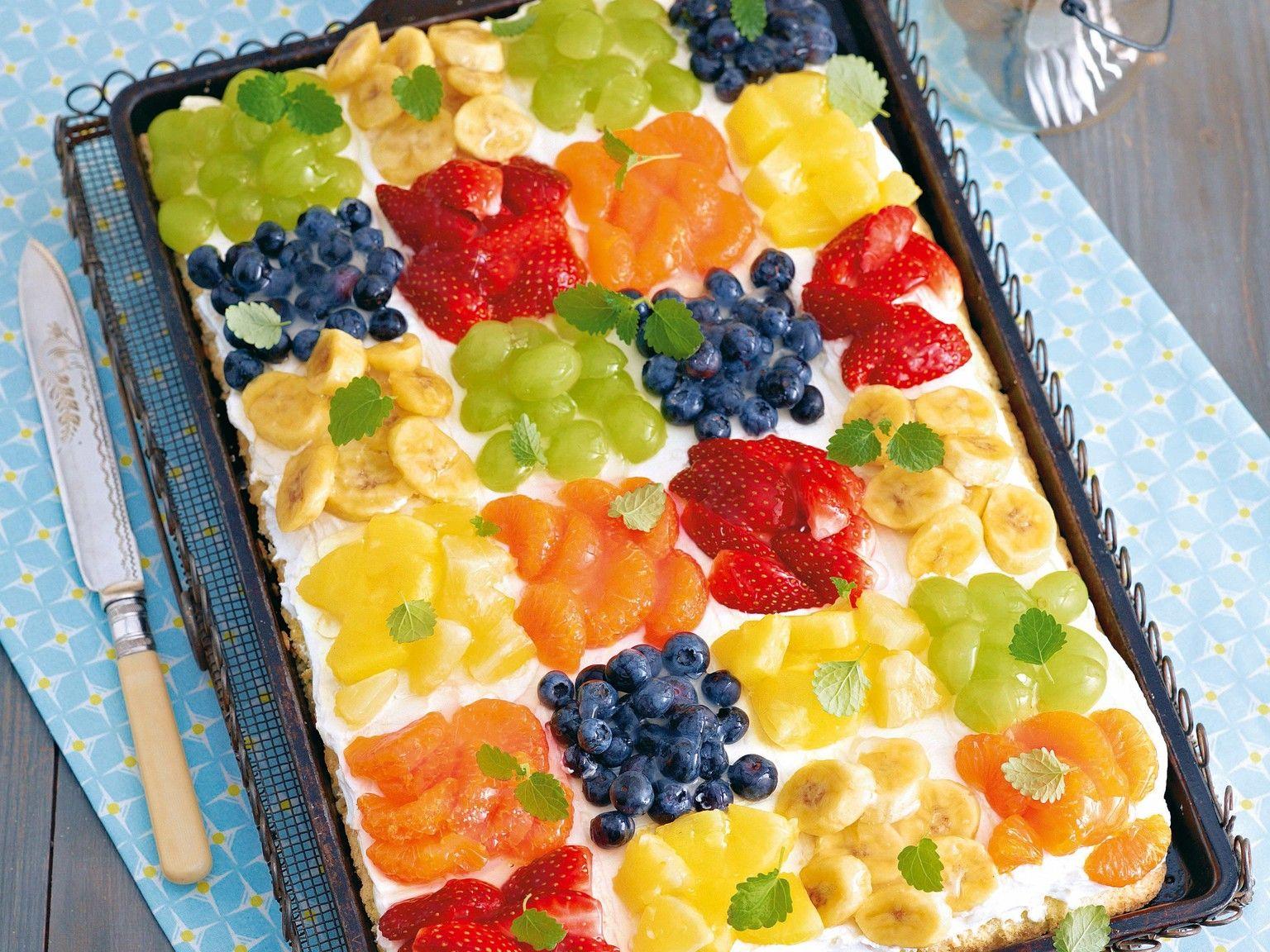 Patchwork Kuchen Rezept #cookiesalad