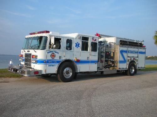 Engine 202 is assigned to Thomas Drive Volunteer Fire