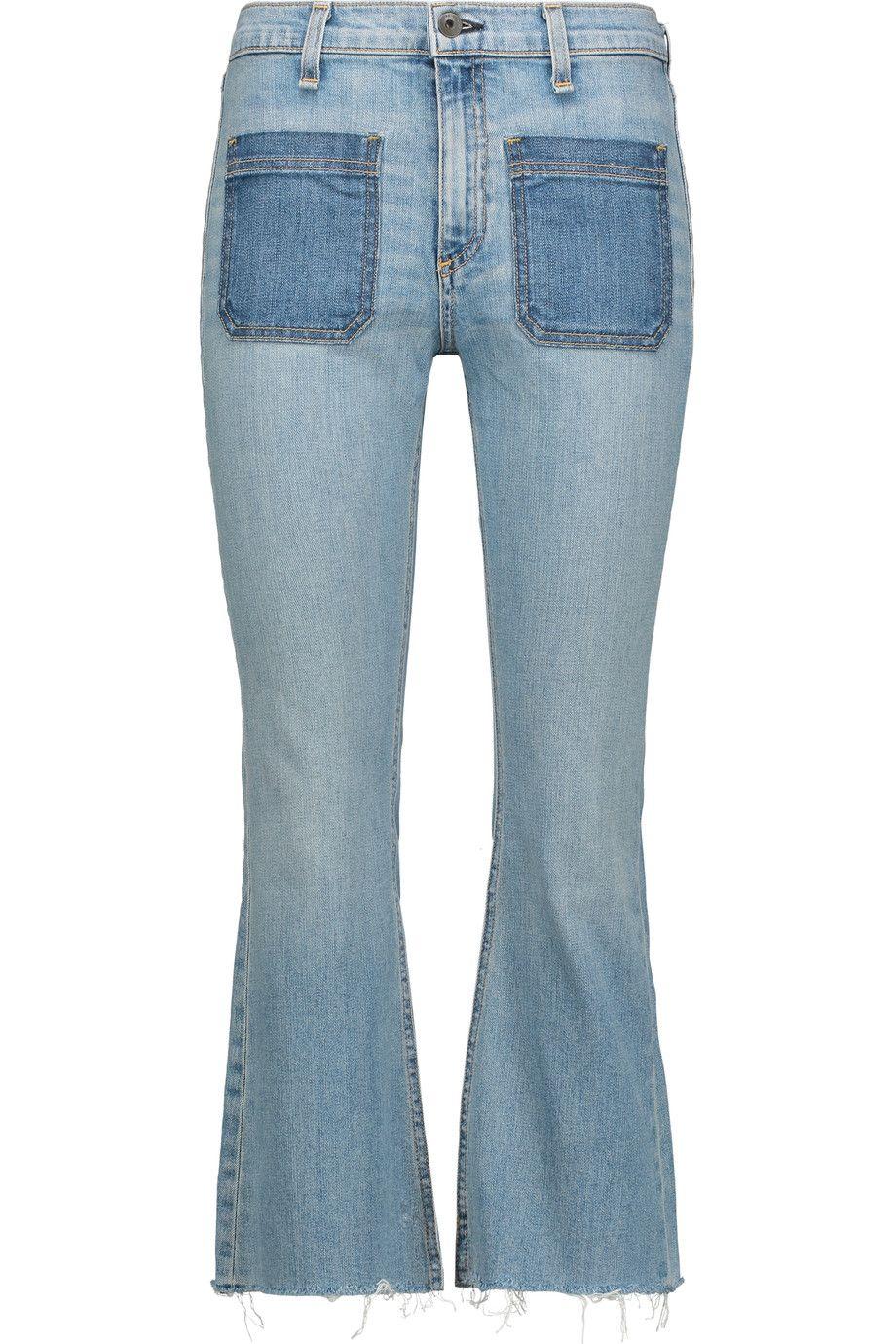 light-wash flared jeans - Blue Rag & Bone 2Og8qf4CE