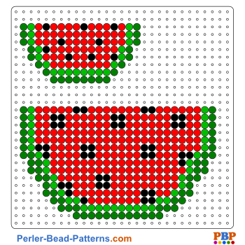 Watermelon perler bead pattern  Download a great collection