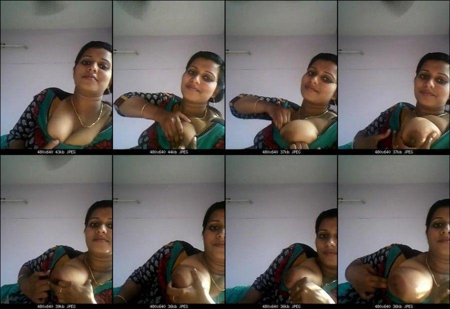 With breast girls mallu big