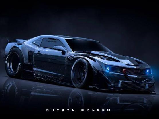 Top 10 Cyberpunk Car Renders Designed By Concept Artist Khyzyl Em